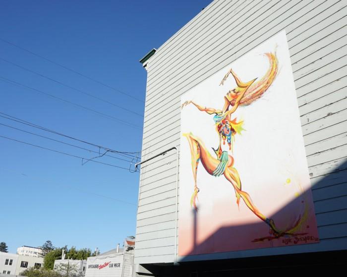 katie mural